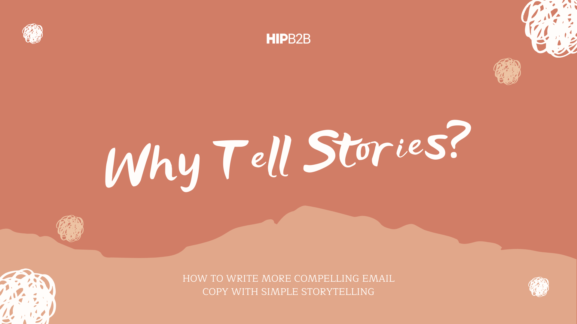 Why Tell Stories