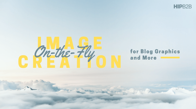 On-the-Fly Image Creation Tools for Blog Graphics and More
