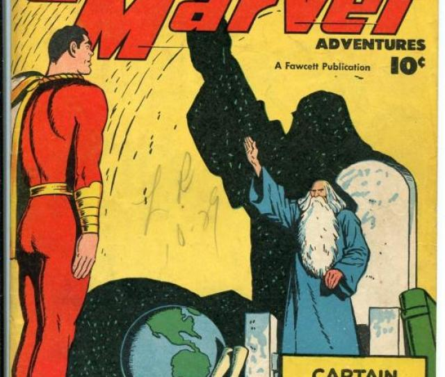 Captain Marvel Adventures   Fawcett Shazam Cover Origin Issue Vg