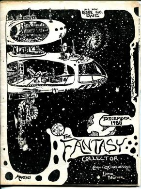 Browse Products in Comic Collectibles   Fan Clubs   Zines   HipComic Fantasy Collector  201 1988 Caz 1st revival issue Virgil Wilhite