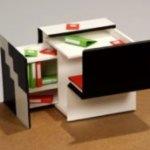 Een super trendy mini-bureau voor je kind!