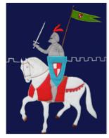 dekbedovertrek ridder