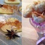 Valentijns-lollies & appel chips met hartjes