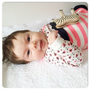 Fee met zebra ostheimer