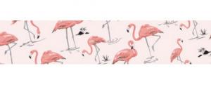 masking tape flamingo