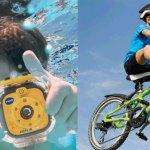 Laat je kind eigen actiefoto's maken op vakantie!