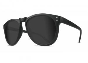 Zwarte Wharton zonnebril