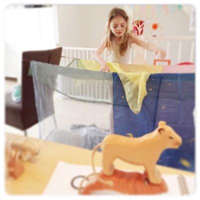 tent bouwen van speelkleden