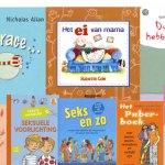 11 boeken die je kunt gebruiken bij de seksuele voorlichting
