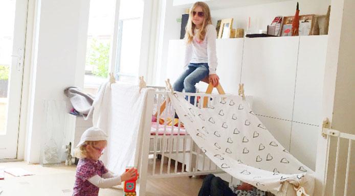 Genoeg Dit is waarom kinderen veel leren van het bouwen van hutten - Hip @QA07