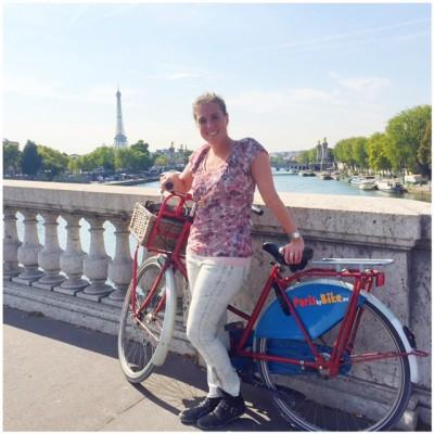 parijs op de fiets
