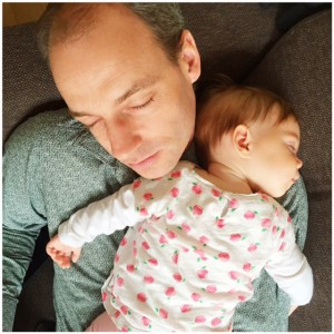 slapen papa en fee