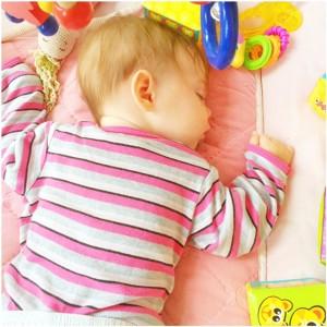 slapen baby
