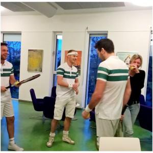 mannen tennis
