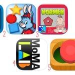 Apps om de vormen te leren