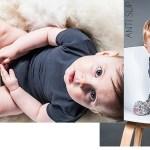 Winnen! Geitenwollen babysokjes met persoonlijke boodschap
