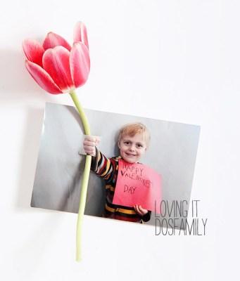 Valentijnsdag fotokaart