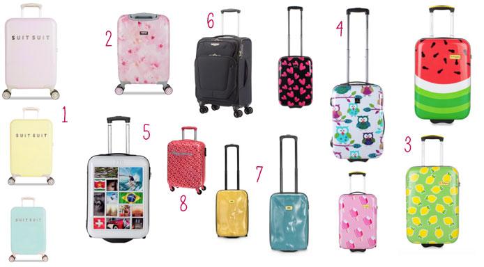hippe handbagage koffer