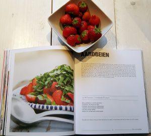 Veggie very much met aardbeien