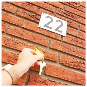 sleutels-huisnummer-22