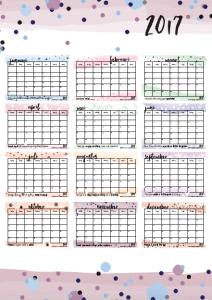 jaarkalender-2017