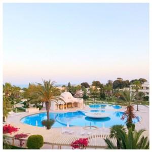 zwembad hotel hammamet