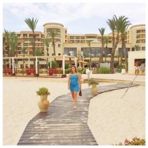 Op vakantie naar Tunesië strand sousse