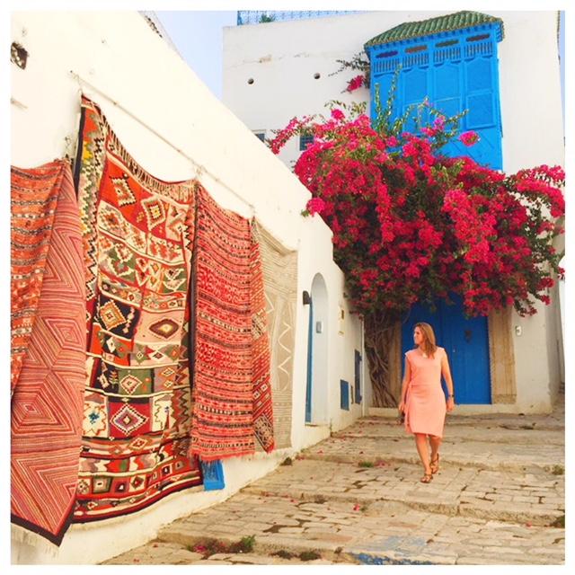 Op vakantie naar Tunesië en sidi bou said