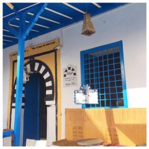 Cafe des Nattes in Sidi Bou Saïd boven