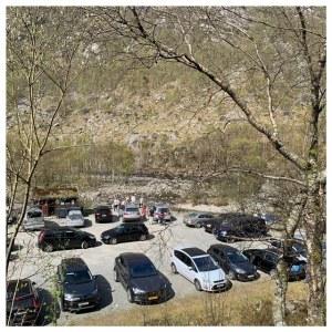 parkeerplek manafossen