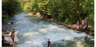 eisbachwelle surfspot