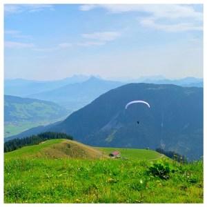 parasailen alpen brixental