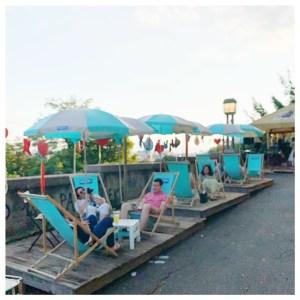 strossmayer promenade zagreb strandstoelen