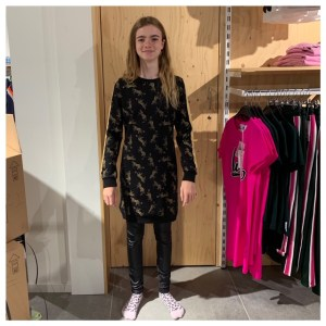 Sterre panter jurk