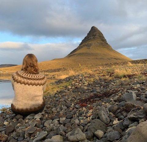 IJslandse trui Kirkjufell