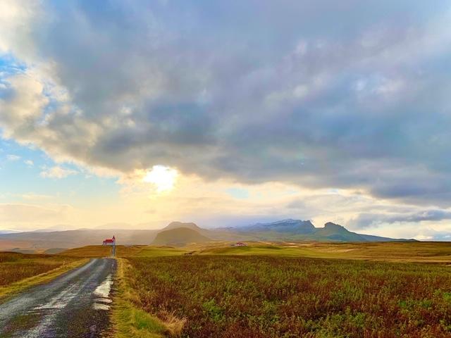 Snaefellsnes, de bezienswaardigheden en route uitzicht ingjaldholskirkja
