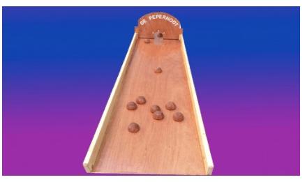 pepernoten sjoelbak