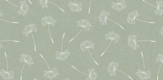 dandelion tafelzeil lichtgroen