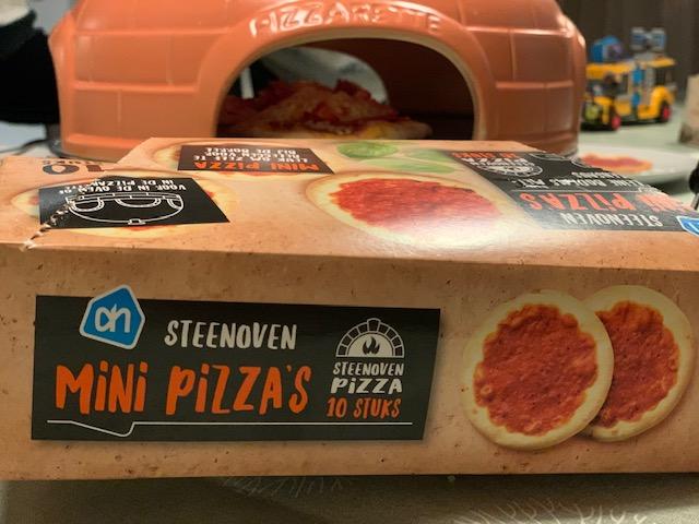 steenoven mini pizza's