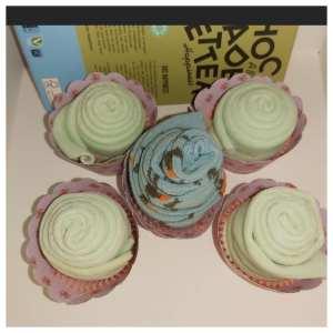 surprise cupcakes met sokken