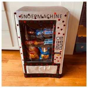 surprise snoepmachine met echt snoep