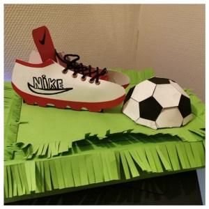 Sinterklaas surprise ideeën voetbalschoen