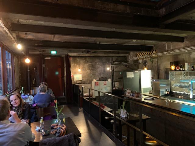 hip restaurant de Kokerei in ruhrgebied