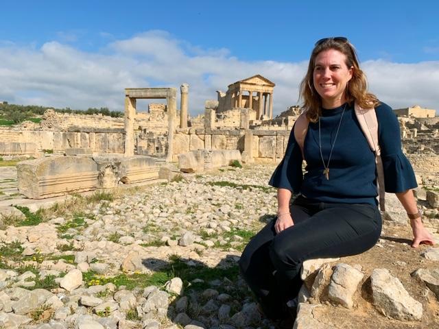 Noord-Tunesië tempel dougga