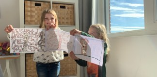 Online activiteiten voor kinderen tijdens de Corona lockdown kunstjuf marit
