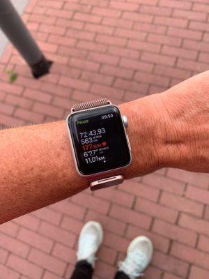 hardlopen 11 km juni 2020