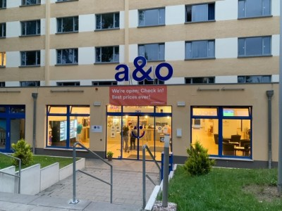 A&O hostels Weimar receptie