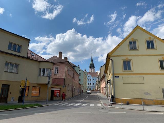 Jindrichuv Hradec stadje