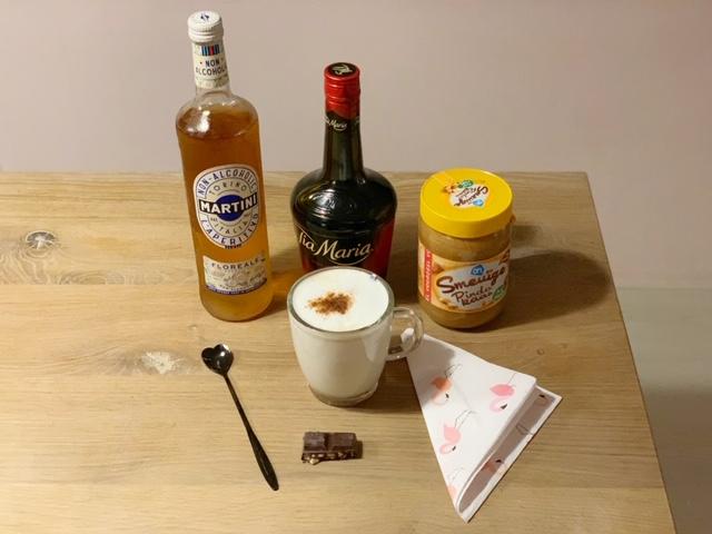 Martini non alcoholico in een verrassend warm drankje