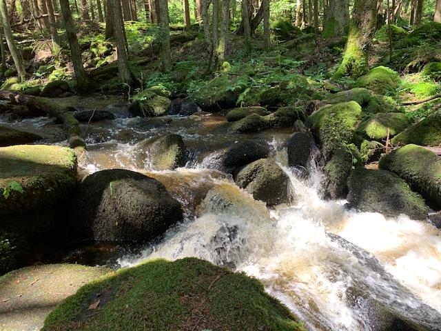 Vodopady Svateho Wolfganga waterval